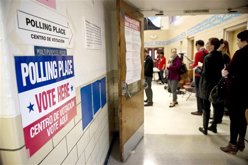 Poll watchers are recruited by candidates and parties to observe Election Day voting. Watchers track who shows up at the polls to aid get-out-the-vote efforts, and they can also challenge the identity or eligibility of those who arrive to vote.