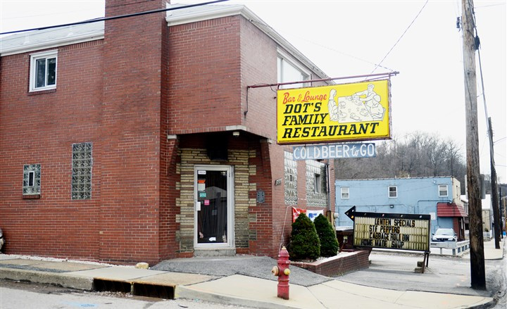 20160301ppDotsLOCAL Dot's Family Restaurant on Fifth Avenue in Mckeesport.