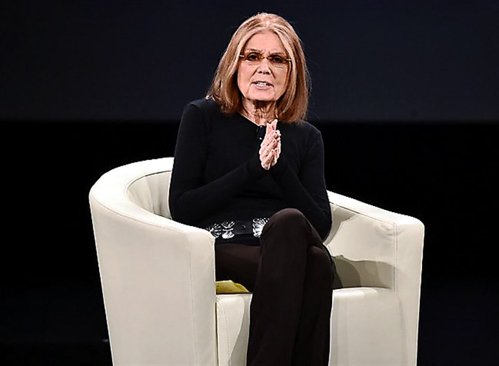 steinem 03012016 Gloria Steinem at a conference in February. She was interviewed for the Lands' End catalog by the company's chief executive.