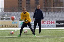 Brenden Alfery, a Cheswick native and Central Catholic graduate, has been signed by the Riverhounds.