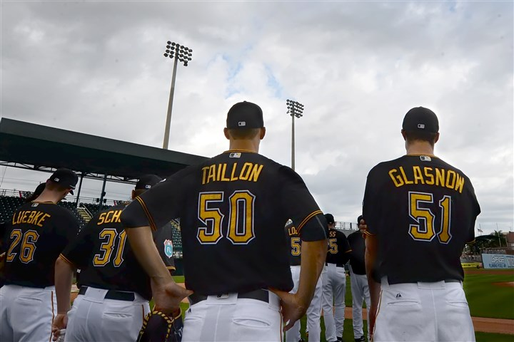 20160302pdPiratesSports08-3 Jameson Taillon and Tyler Glasnow were optioned to Class AAA Indianapolis Monday.
