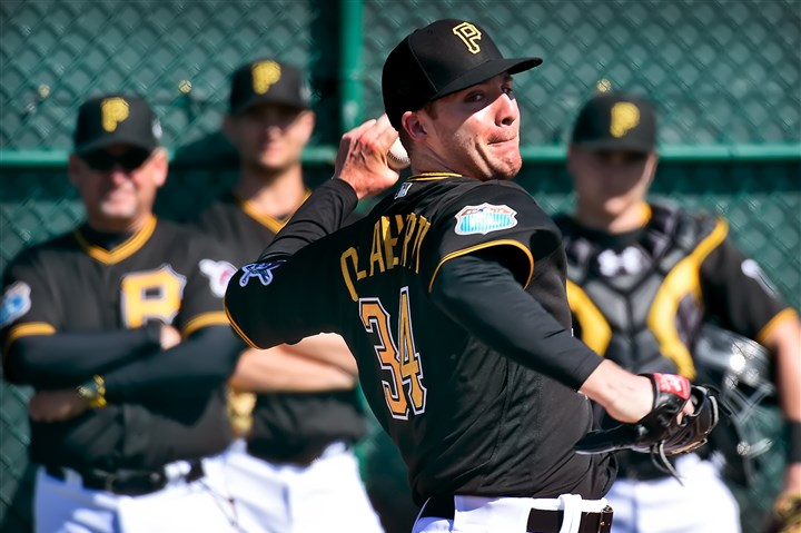 20160302pdPiratesSports01 From 2009 to 2013, Eric O'Flaherty had a 1.99 ERA in 249 1/3 innings.