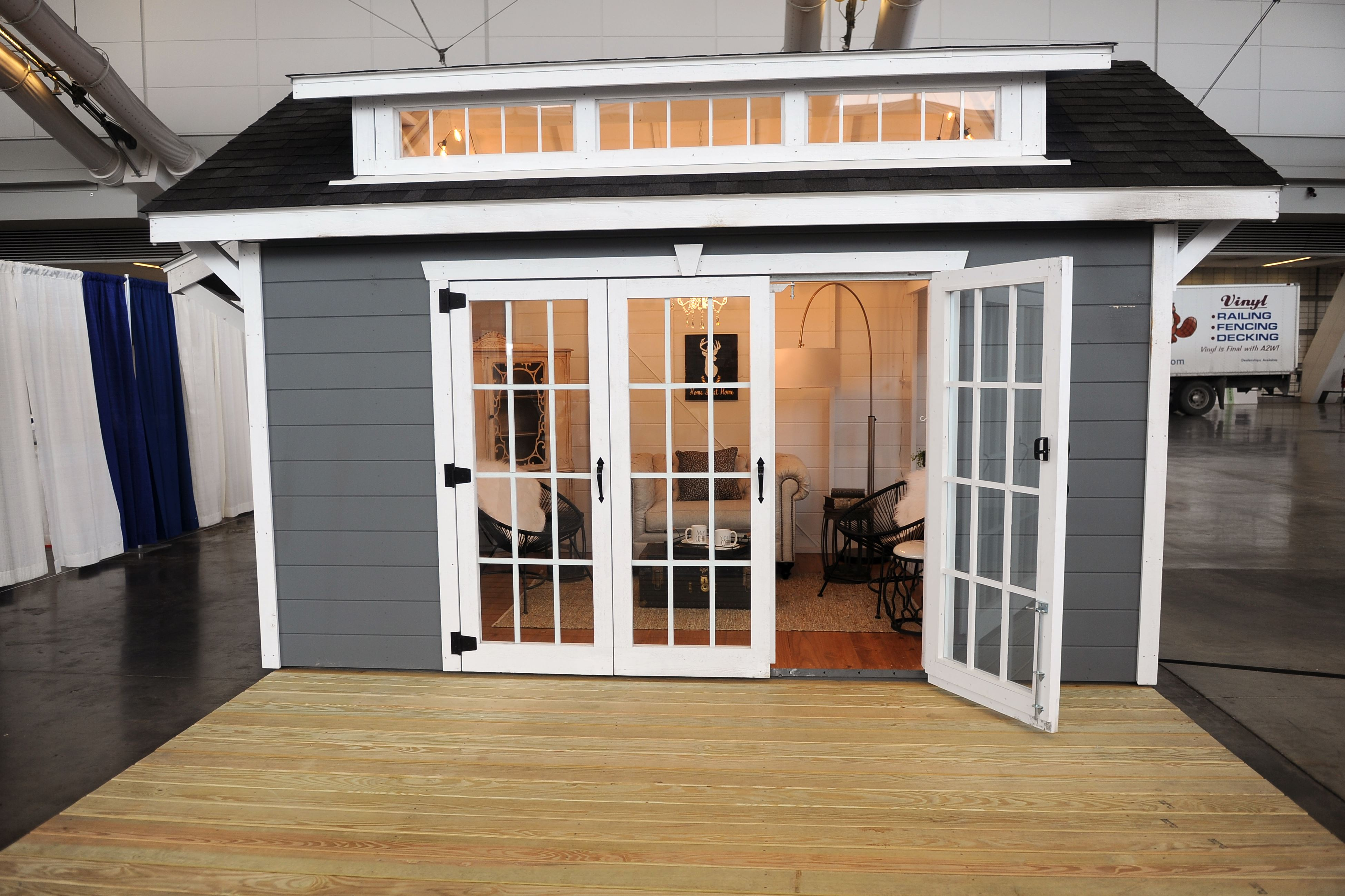 Man Caves And She Sheds : Move over man cave hello she shed pittsburgh post gazette