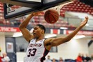 Duquesne forward L.G. Gill and the Dukes are extending their season the the College Basketball Invitational.