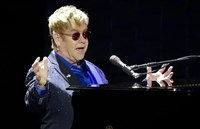 During a return flight home from Chile, singer Elton John became violently ill, according to his representative. The singer, who turned 70 in March, spent two nights in intensive care at a hospital in Britain.
