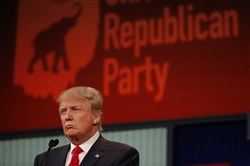 Donald Trump is leading an insurrection against the Republican Party establishment.