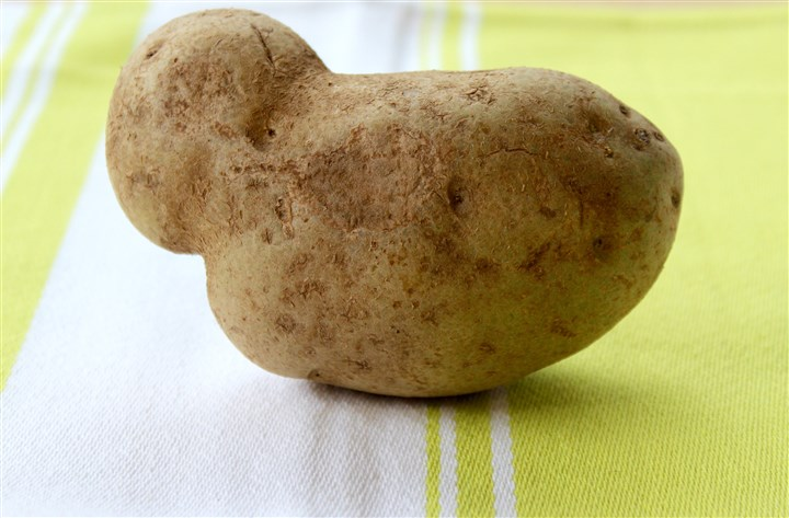 giant_eagle_misshapen_potato_biz Misshapen potato from Giant Eagle With Produce With Personality, Giant Eagle is the first major Pittsburgh food retailer to introduce misshapen fruits and vegetables at a discount to help combat food waste.