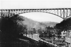 East Street Valley looking toward Swindell Bridge, 1931
