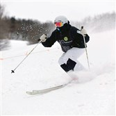 Wyatt Antkiewicz, a student at Upper St. Clair, is a top mogul skier on the cusp of qualifying for the U.S. Ski team.