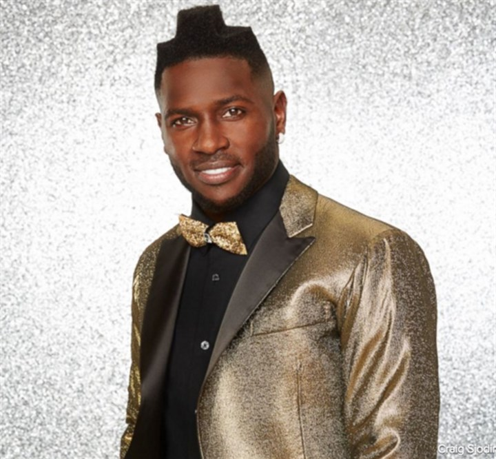 "antonio brown 03082016 The Steelers' Antonio Brown in a publicity photo for ""Dancing With the Stars."""