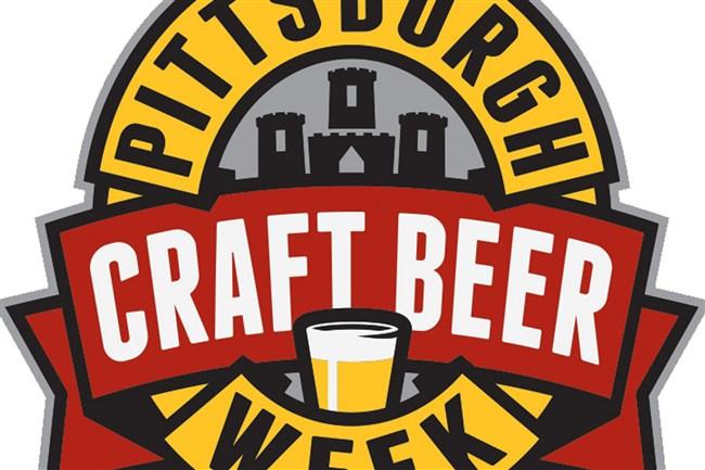 Logo for Pittsburgh Craft Beer Week, 2016.