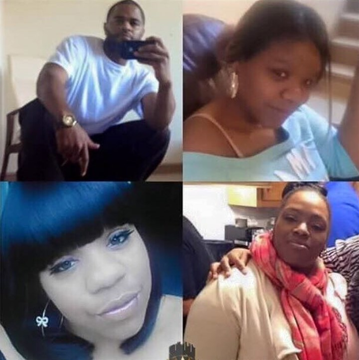 Wilkinsburg shooting victims 03102016 Four of those who died in the Wilkinsburg shooting, clockwise from top left, Jerry Shelton, Brittany Powell, Tina Shelton, and Chanetta Powell.