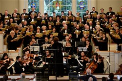The Pittsburgh Concert Chorale performs Mendelssohn's Elijah at Fox Chapel Presbyterian Church.