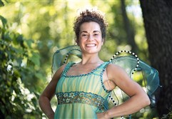 "Point Park graduate Elly Noble, who played the title role in ""Tink!"" for Stage Right of Greensburg to open their season, will reprise the role for the New York Musical Festival."
