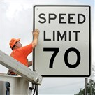 Except for sections of the Pennyslvania Turnpike, Allegheny County will see very few signs allowing traffic to move at 70 mph.