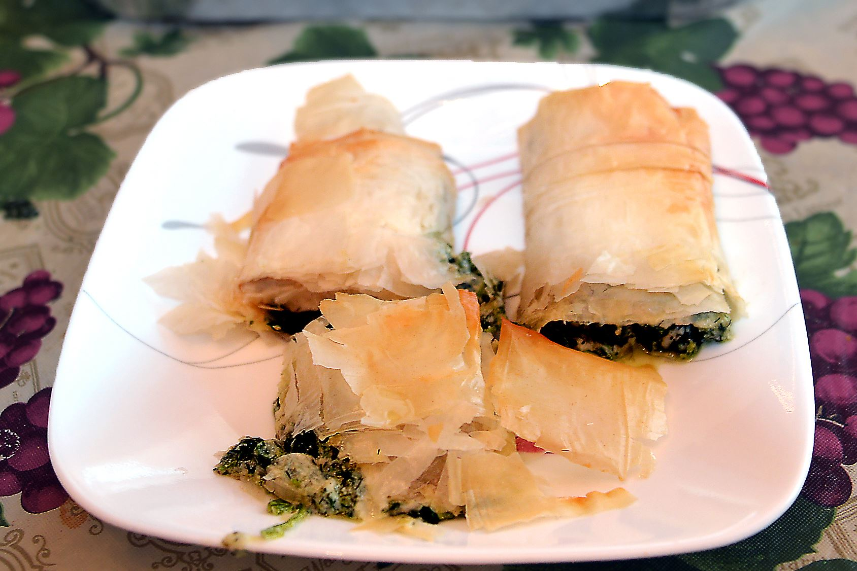 20160317ng-Recipe1 Spanakopita will be among the classic Greek treats available at the Annunciation Greek Church's food festival.