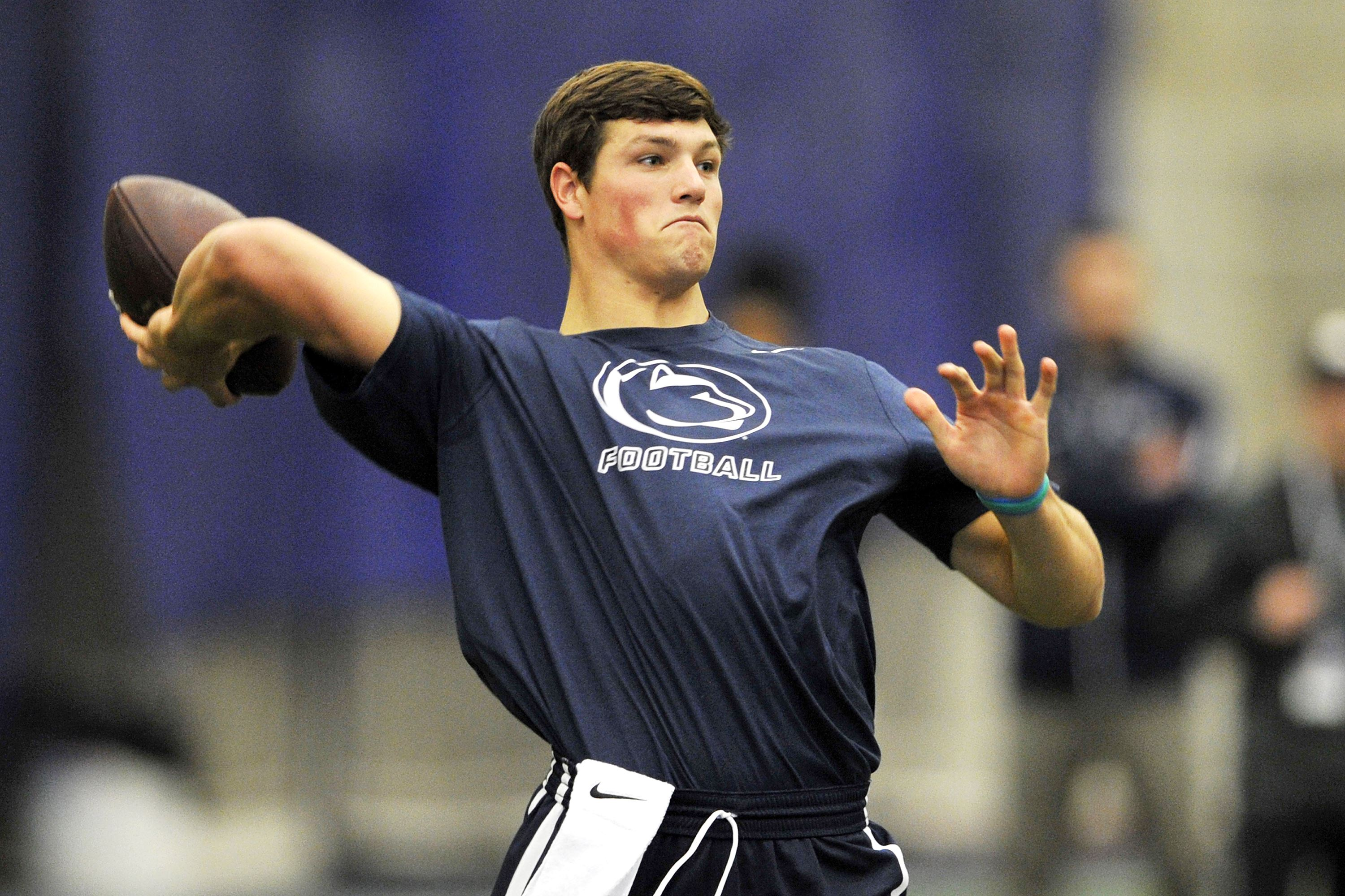 Christian Hackenberg Impresses at Penn State Pro Day