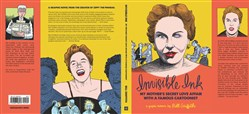 "book jacket from Bill Griffith's new graphic novel, ""Invisible Ink: My Mother's Secret Love Affair with a Famous Cartoonist."""