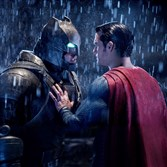 "Ben Affleck stars as Batman and Henry Cavill is Superman in ""Batman v Superman: Dawn of Justice."""