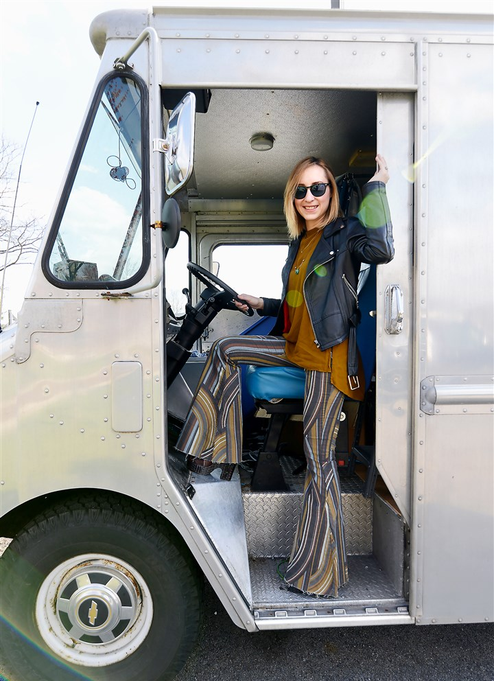 Inside Highway Robbery fashion truck Kate Colussy will soon be taking to the road with her vintage fashion truck, Highway Robbery.
