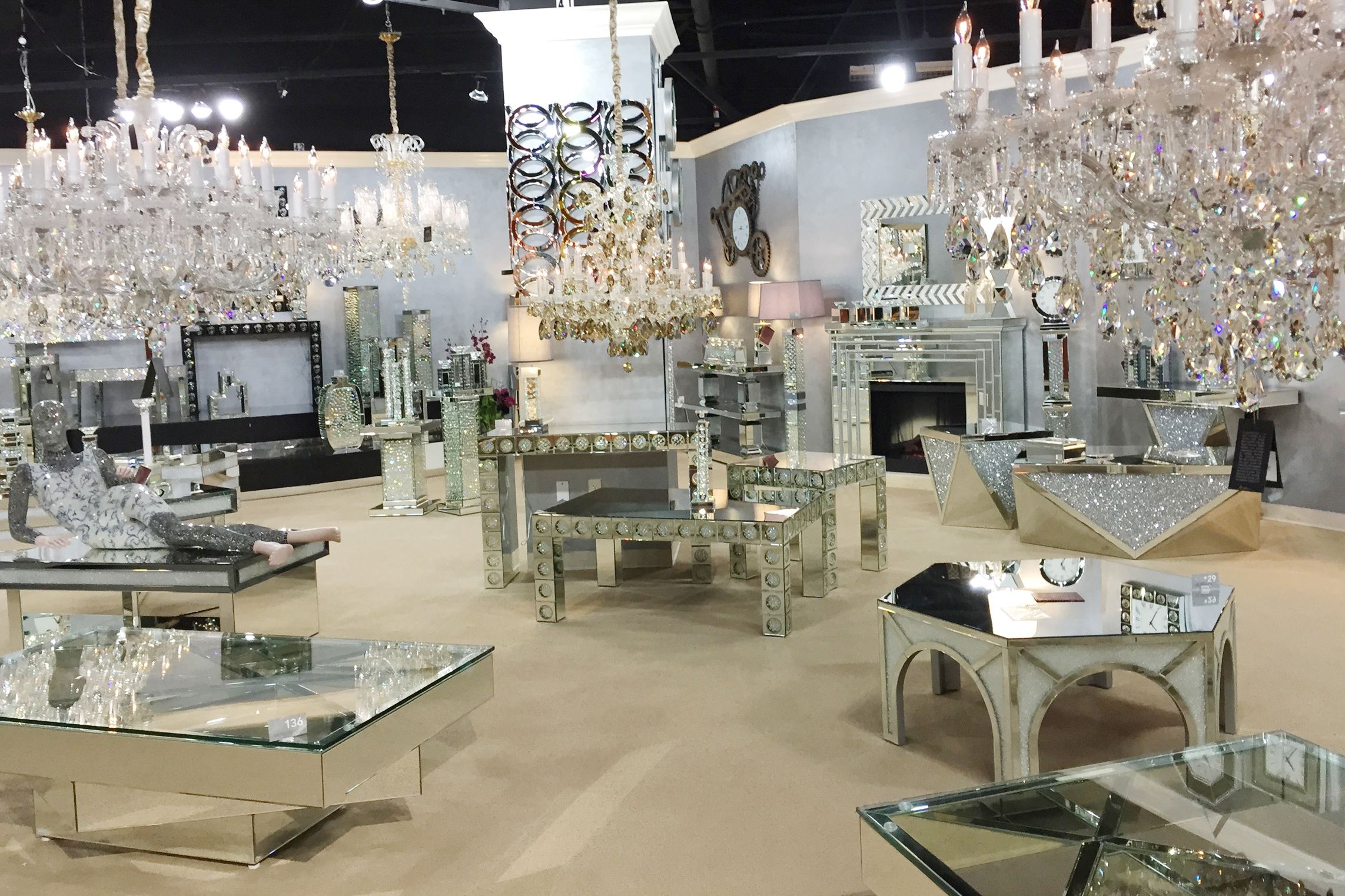 The Las Vegas Furniture Market Shows Off Its Glitzy Glamorous Side With Some Bold Sexy Designs