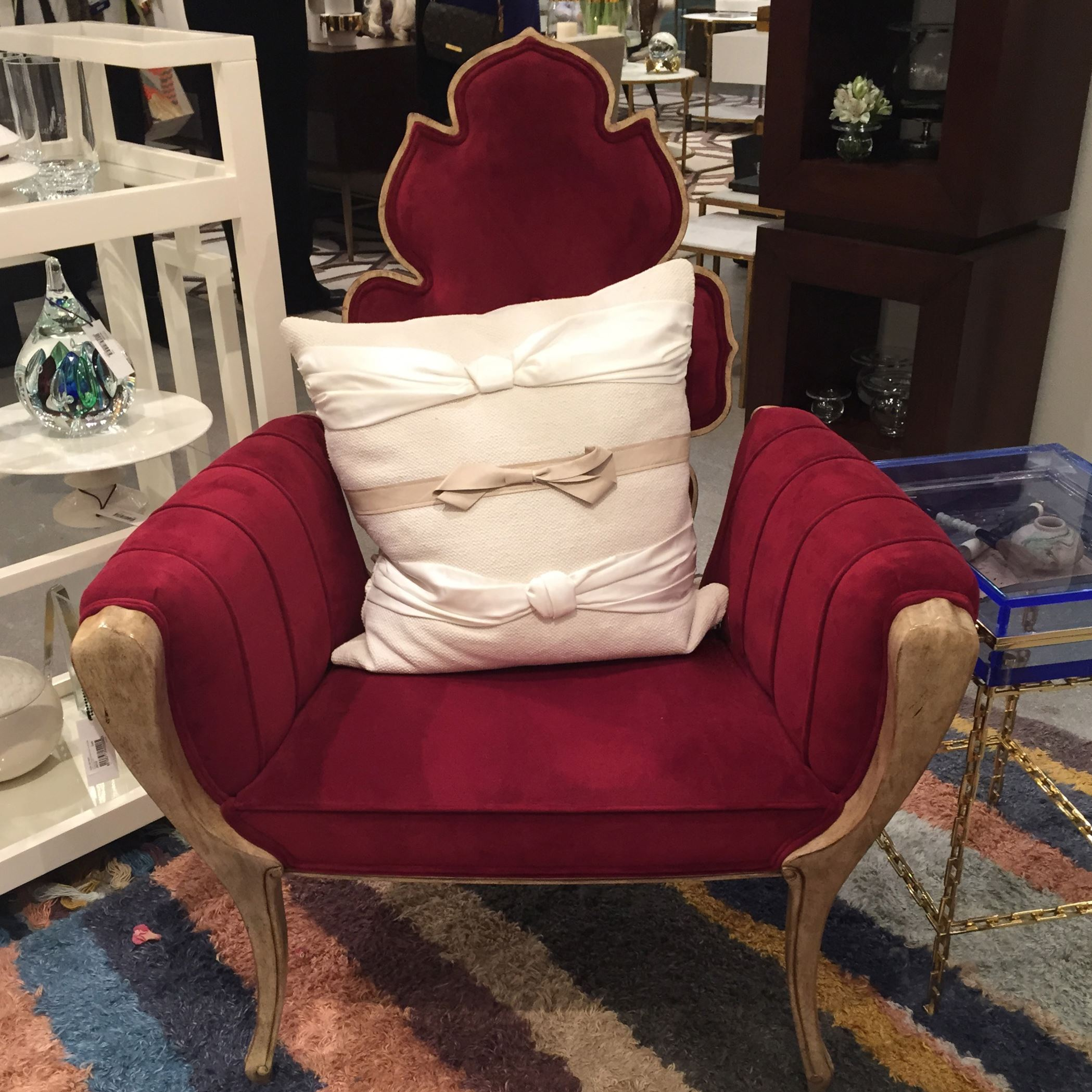Global Views Wiggle Chair: The Las Vegas Furniture Market Shows Off Its Glitzy