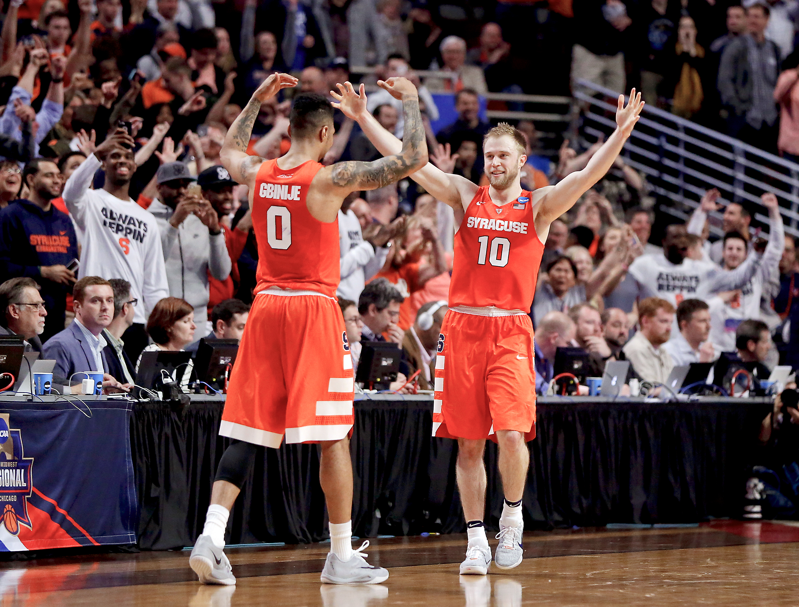 Syracuse Storms Back To Move On To Final Four