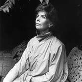 Author Edna O'Brien.