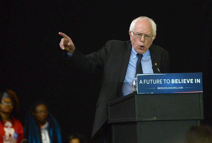 Bernie Sanders supporters faced with quandary afte... - Pittsburgh Post-Gazette