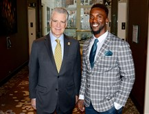 Art Rooney II and Andrew McCutchen.