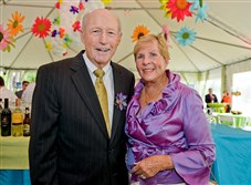 Ron Wertz and his wife, Ann, at the Pittsburgh Children's Museum's 30th anniversary party in 2013.
