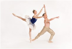 "Alexandra Kochis and Christopher Budzynski in this weekend's season finale ""Le Corsaire."""