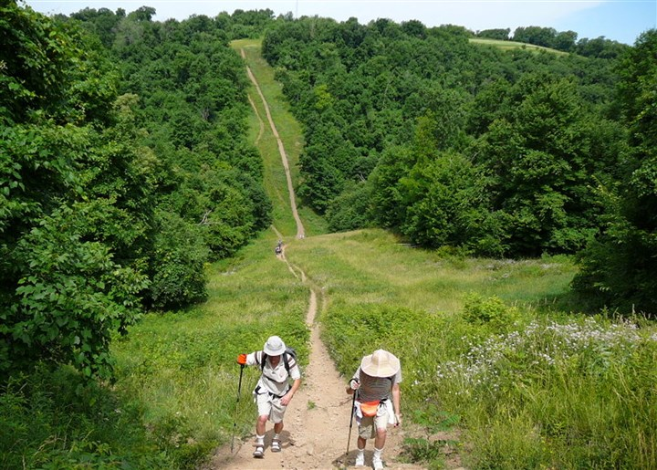 Rachel Carson Trail Challenge is a 34-mile endurance hike The Rachel Carson Trail Challenge is a 34-mile endurance hike from Harrison Hills Park to North Park. There's also an 18-mile Homestead Challenge and an 8-mile Friends & Family Challenge.