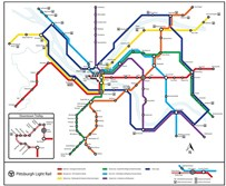 Subway map designed by Ben Samson.