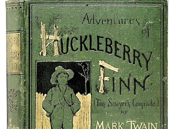 mark twains the adventures of huckleberry finn an anti slavery and anti racism novel Mark twain, mr samuel clemens we view the novel, the adventures of huckleberry finn the institution of slavery and racism.