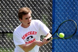 Luke Ross of Sewickley Academy, a Georgetown recruit, will be looking for his third WPIAL and second PIAA Class 2A individual singles title in a row.