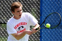 Sewickley Academy's Luke Ross is looking to win another PIAA Class 2A singles title.