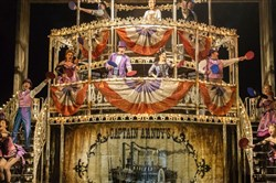 "The new London production of ""Show Boat"" stars Ross native Chris Peluso."