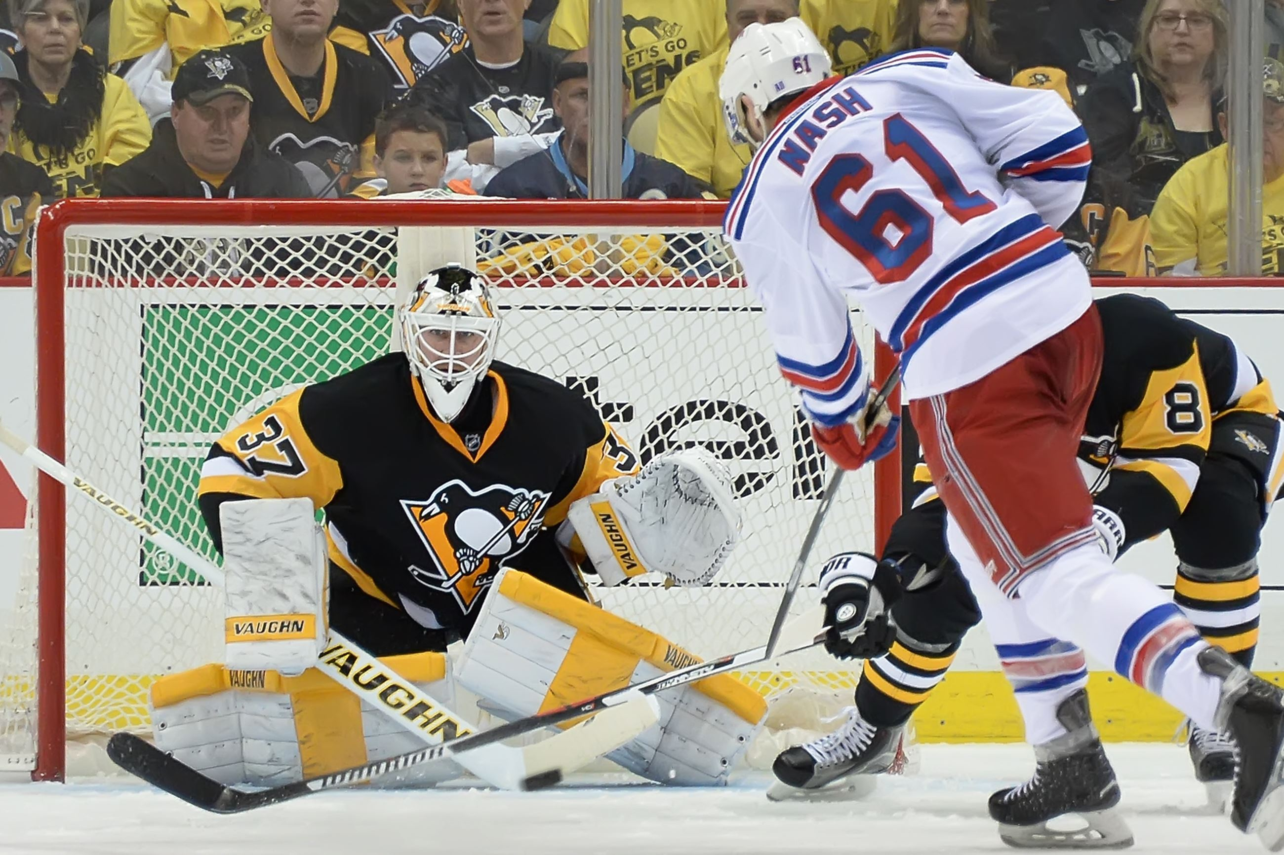 Malkin, Rust return to Penguins lineup, Fleury out for Game 2 against Rangers