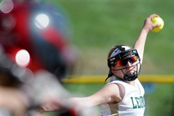 Belle Vernon pitcher Bailey Parshall, the defending WPIAL strikeout queen, has added another pitch to her arsenal.