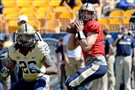 Pitt quarterback Nate Peterman hopes to work on his timing and chemistry with his receivers during players-only workouts this summer.