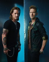 Tyler Hubbard and Brian Kelley of Florida Georgia Line.