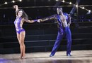 "Antonio Brown and dance partner Karina Smirnoff cha cha to ""Son of a Preacher Man."