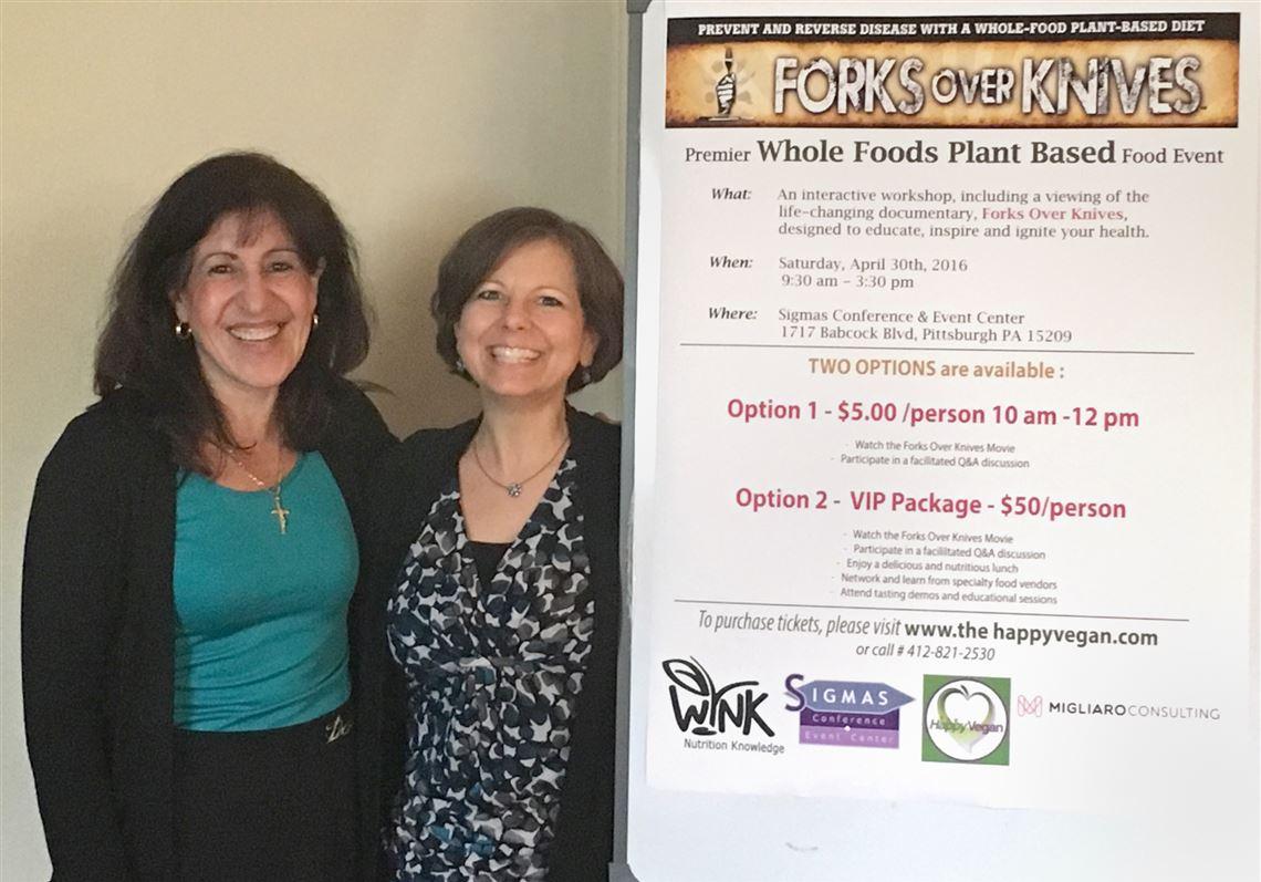 Forks Over Knives' food event pushes for plant-based diet