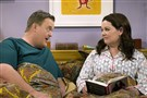 "Billy Gardell and Melissa McCarthy in ""Mike & Molly."" The show will return to CBS on Monday."