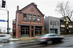 Engine House No. 16 on Penn Avenue in North Point Breeze is home of Fireman Creative, a development and design agency.