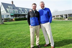 Oakmont Country Club director of golf Bob Ford is one of four 2016 inductees to the West Penn Golf Association Hall of Fame, it was announced Tuesday. Ford, who is retiring, is shown with his replacement Devin Gee.