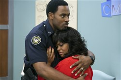"Troy (Lamman Rucker) and Sheila (Jill Scott) in ""Tyler Perry's Why Did I Get Married Too?"""