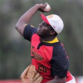 Cardinal Wuerl North Catholic pitcher Erick Taylor has been a big reason for the Trojans' success.