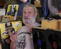 Jerry Weber, of Jerry's Records, fields questions about old records and past Pittsburgh concerts last year.